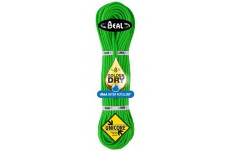 Lezecké vybavení - BEAL Gully Unicore 7,3mm golden dry 60m