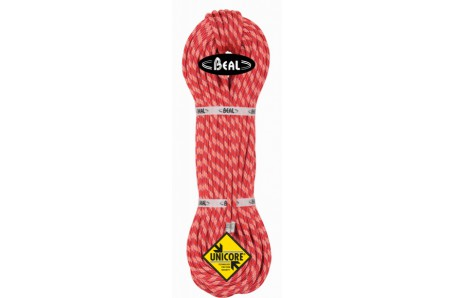 Lezecké vybavení - BEAL Ice Line Unicore  8,1mm  golden dry 70m