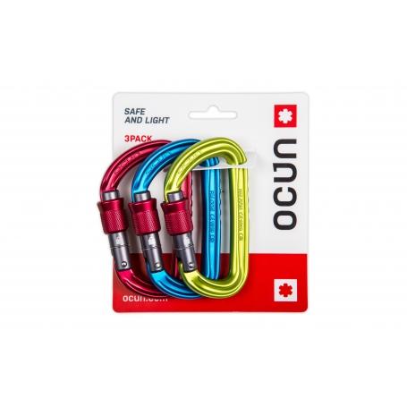 Lezecké vybavení - Ocún FALCON screw 3-pack