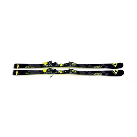 Sjezdové lyžování - Fischer RC4 WORLDCUP GS JR. WCP (bez vázání) 2016/2017
