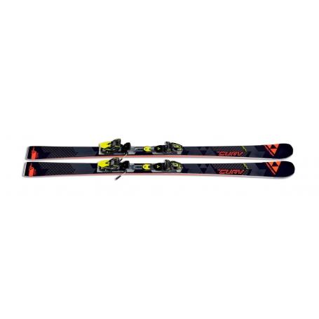 Sjezdové lyžování - Fischer RC4 THE CURV CB + RC4 Z13 FF 2017/18