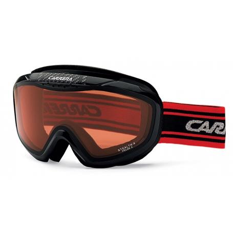 Sjezdové lyžování - Carrera STEALTH s filtrem Light red polar