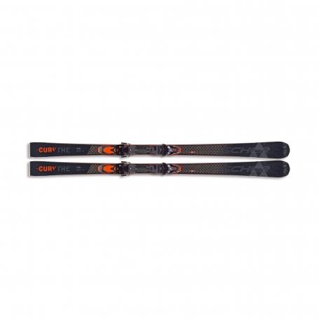 Sjezdové lyžování - Fischer BRILLIANT THE CURV MF + RX 13 PR 20/21