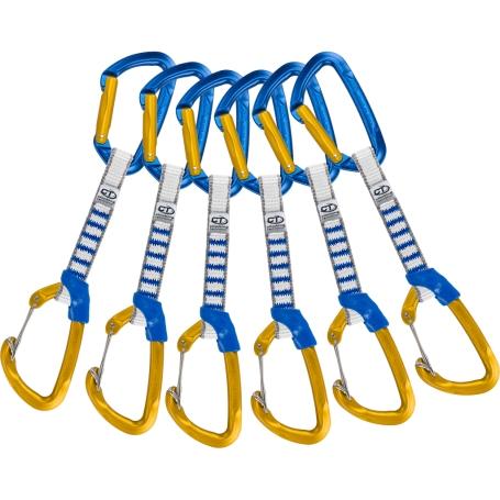 Lezecké vybavení - Climbing Technology 6X BERRY SET NY 12cm BLU/OCRA