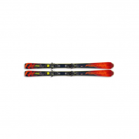 Sjezdové lyžování - Fischer RC4 THE CURV PRO SLR + FJ4 AC 20/21