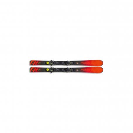 Sjezdové lyžování - Fischer THE CURV JR SLR + FJ4 AC SLR 20/21