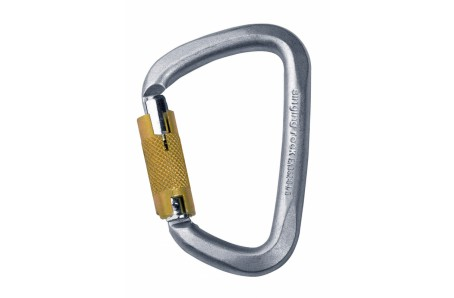 Výškové práce - Singing Rock D KARABINA OCEL / triple lock