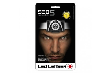 Turistické vybavení - LED Lenser SEO 5