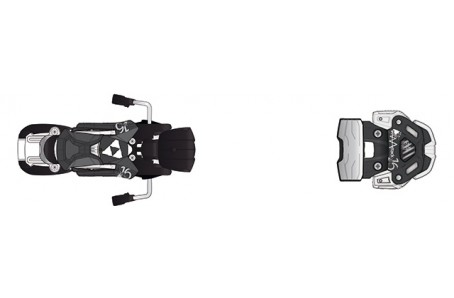 Sjezdové lyžování - Vázání Fischer ATTACK 16 W/O BRAKE BLACK/WH (A) 2016/17
