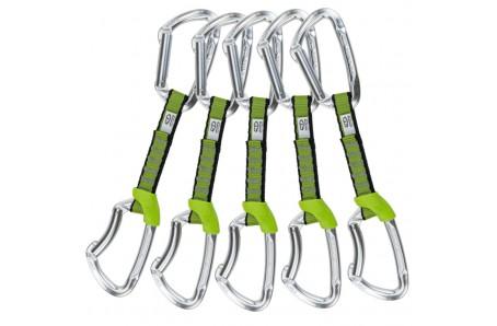 Lezecké vybavení - Climbing Technology 5x LIME SET NY 12cm SILVER