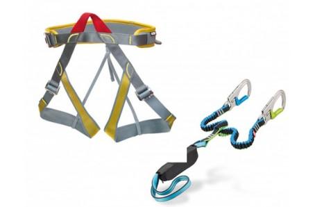 Lezecké vybavení - Ocún Via Ferrata Set Newton