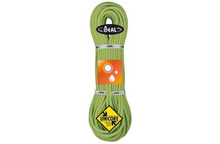 Lezecké vybavení - BEAL Stinger unicore 9,4mm dry cover; 80m