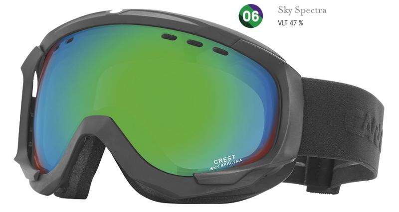 Sjezdové lyžování - Brýle Carrera CREST SPH (filtr: sky spectra) 2016/17
