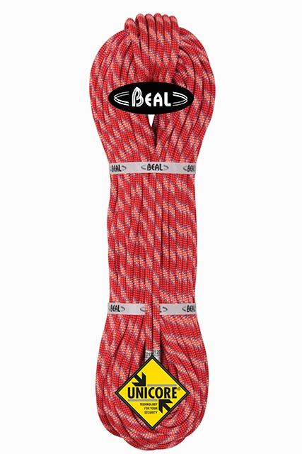 Lezecké vybavení - BEAL Cobra unicore 8,6mm dry cover orange 60m