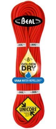 Lezecké vybavení - BEAL Gully Unicore 7,3mm golden dry; 50m