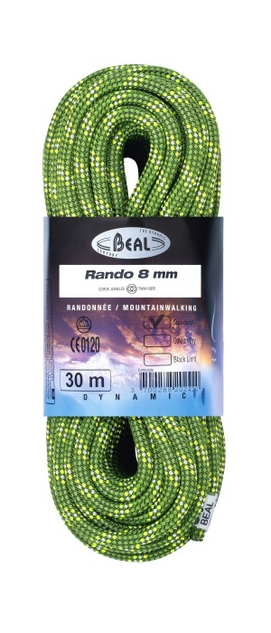 Lezecké vybavení - BEAL Rando 8mm classic 48m