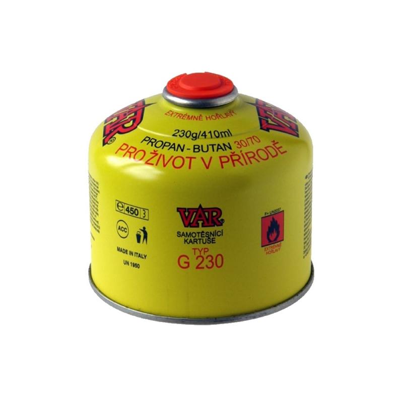 Turistické vybavení - VAR Plynová kartuše VAR CGV 220