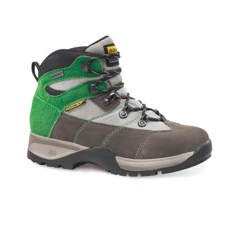 Dolomite dětské trekové boty FLASH PLUS GTX Jr. - Vel. UK 30 Šedá/zelená
