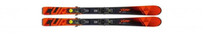 Sjezdové lyžování - Fischer THE CURV JR SLR + vázání FJ7 AC SLR 19/20