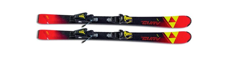 Sjezdové lyžování - Fischer THE CURV JR SLR + FJ7 AC RAIL 2018/19