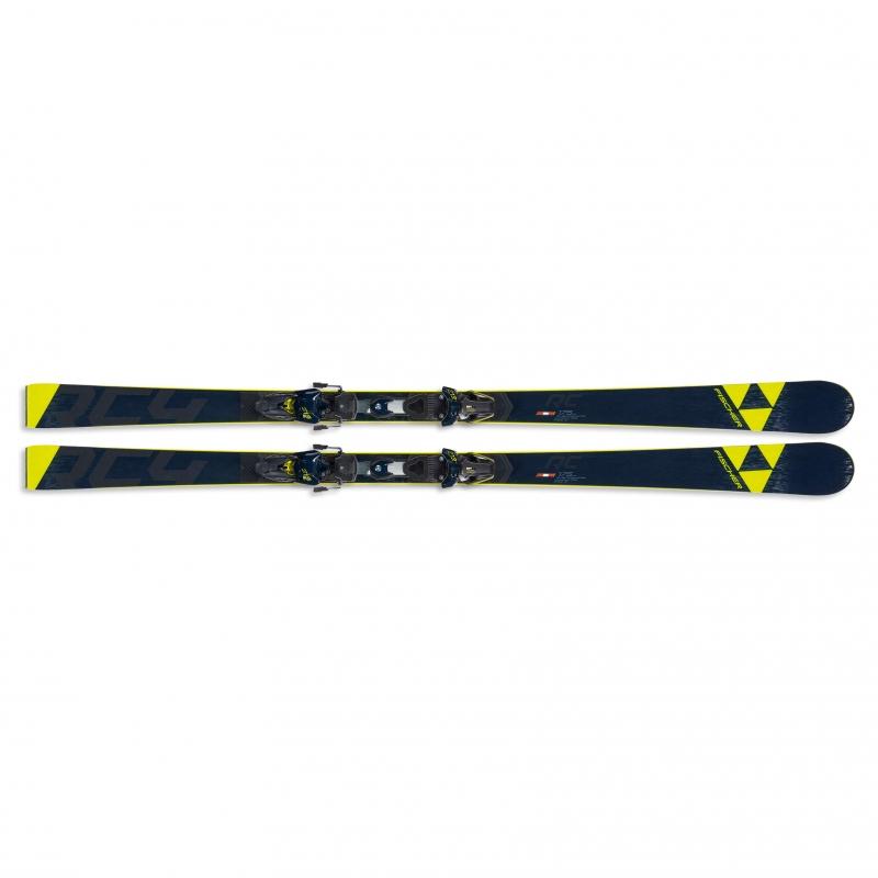 Sjezdové lyžování - Fischer RC4 WC RC CB YELLOW BASE + vázání RC4 Z13 FF 19/20