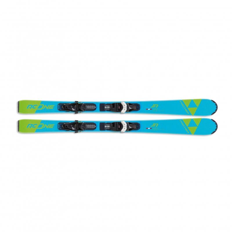 Sjezdové lyžování - Fischer RC ONE JR. SLR + vázání FJ4 AC SLR 19/20