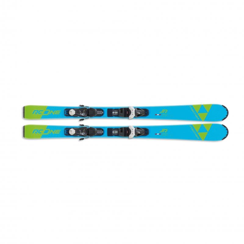 Sjezdové lyžování - Fischer RC ONE JR. SLR + vázání FJ7 AC SLR 19/20