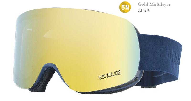 Sjezdové lyžování - Carrera RIMLESS EVO s filtrem gold multilayer 2017/18