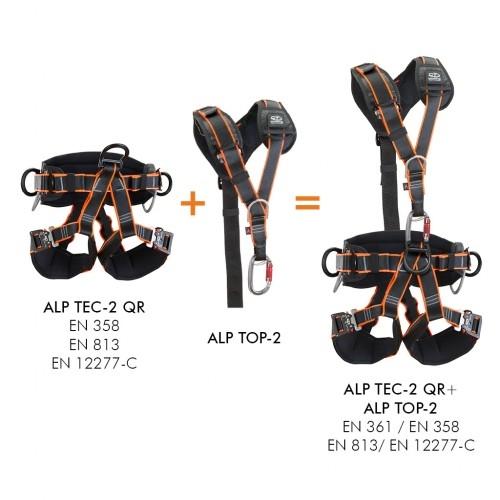 Výškové práce - Climbing Technology ALP TEC 2 QR