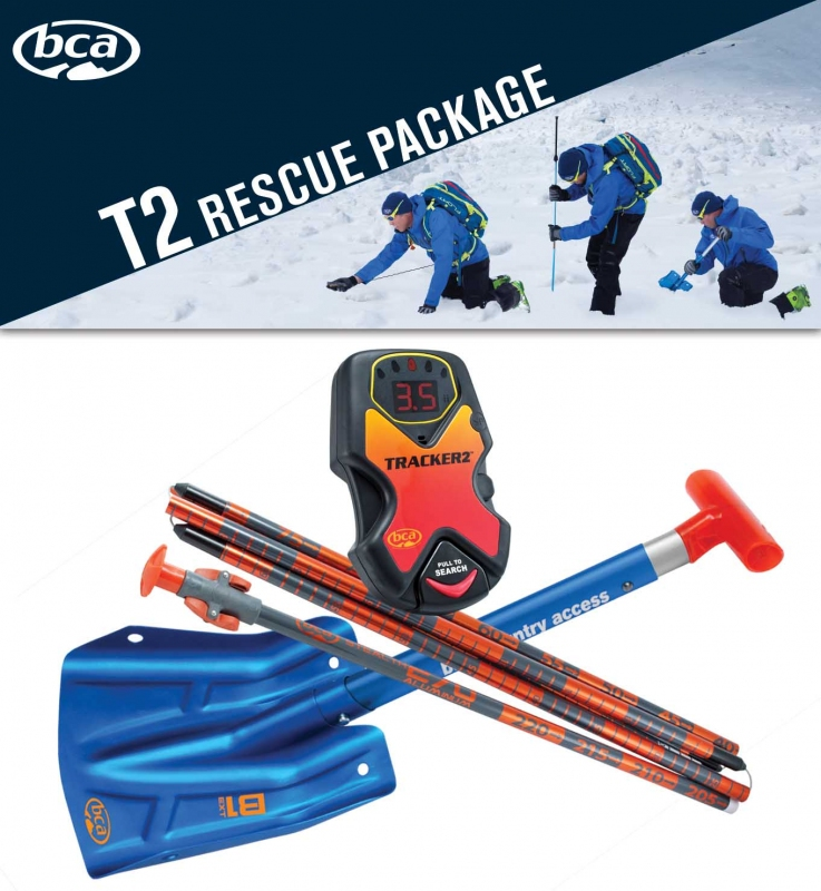 Horolezecké vybavení - BCA T2 RESCUE PACKAGE