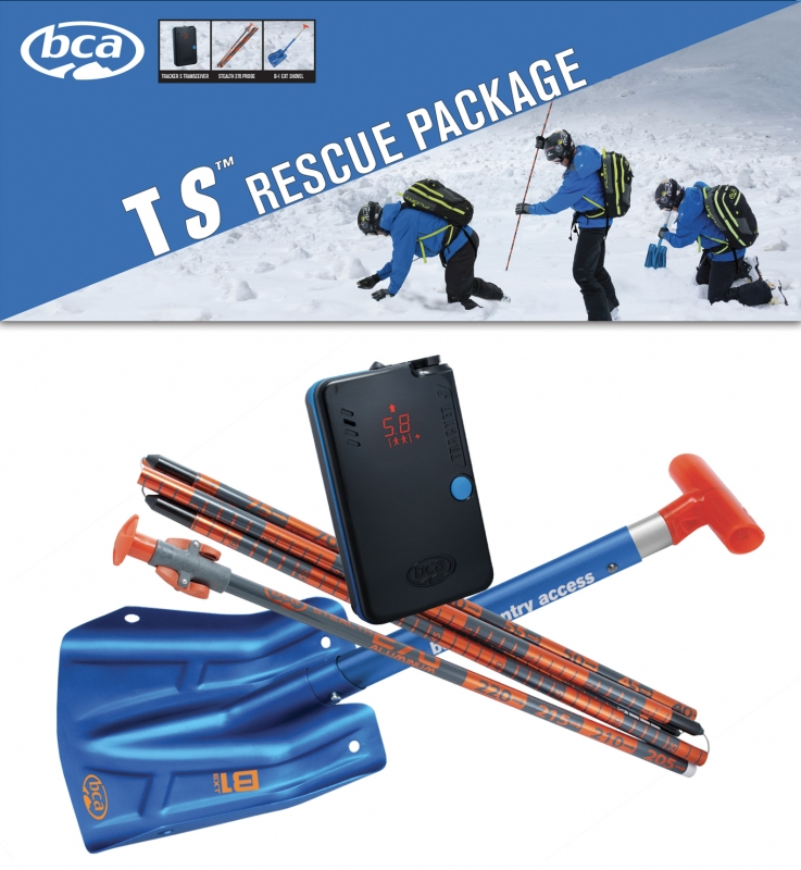 Horolezecké vybavení - BCA TS RESCUE PACKAGE SET