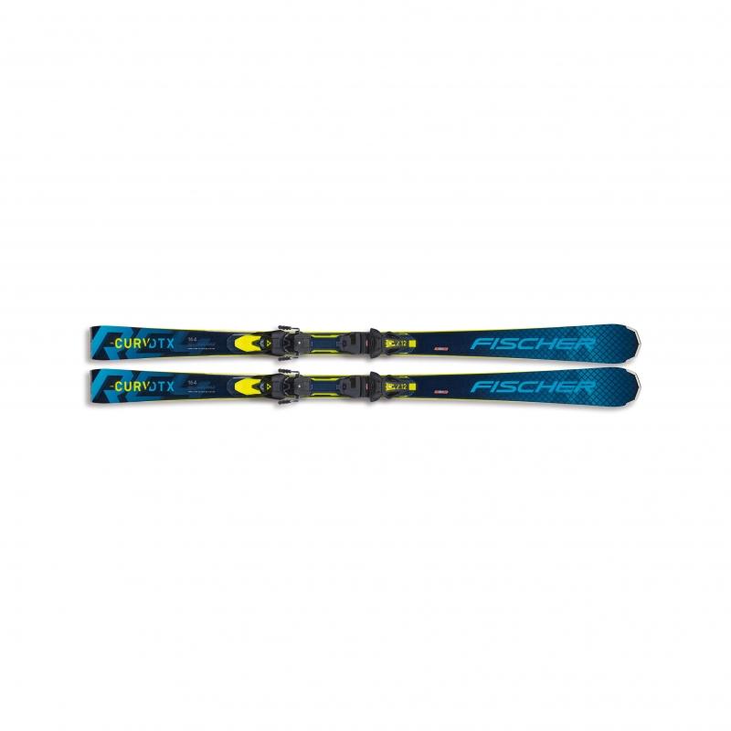 Sjezdové lyžování - Fischer RC4 THE CURV DTX ws MT + RC4 Z12 PR 20/21