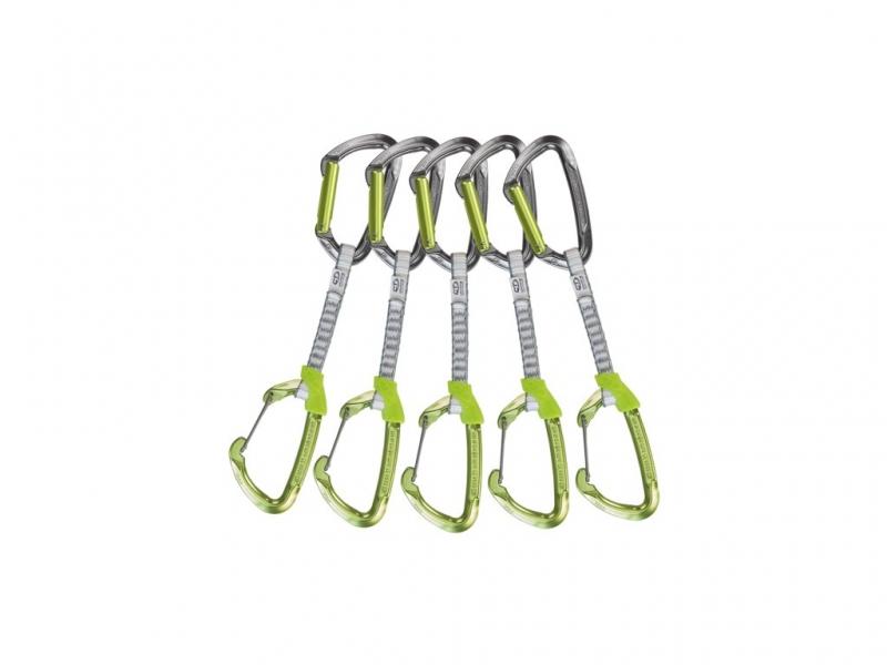 Lezecké vybavení - Climbing Technology 5x LIME MIX SET DY 12 cm