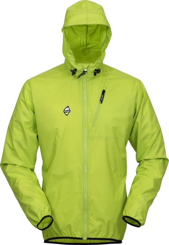High Point Breeze Jacket - lime green M
