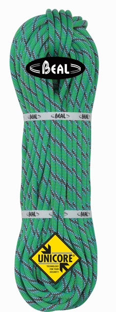 Beal Top gun 10,5 mm unicore - program dry cover 60m green