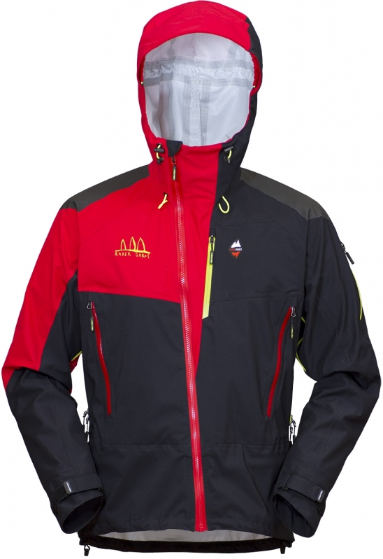 High Point Radical Jacket - black/red M