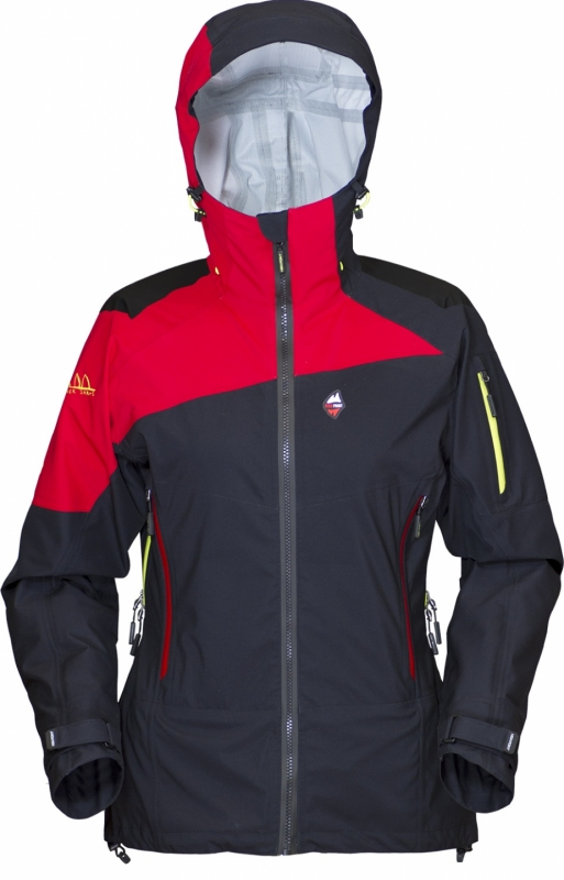 High Point Radical Lady Jacket - s logem Radek Jaroš black/red L