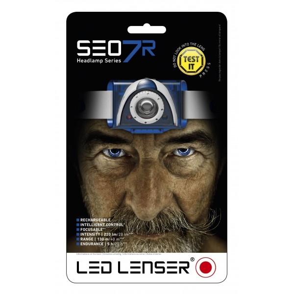 Turistické vybavení - LED Lenser SEO 7R