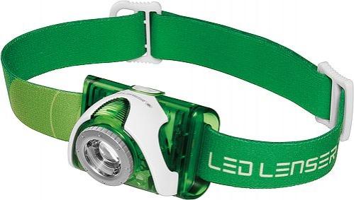 LED Lenser SEO 3 - zelená barva