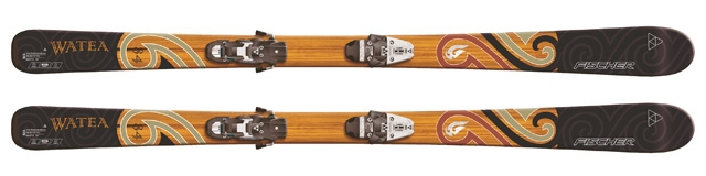 set Watea 84 + FX14 (širší brzda) - 159 cm - 176 cm