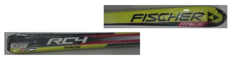Fischer RC4 RACE JR. + FJ 7 AC - 160 cm
