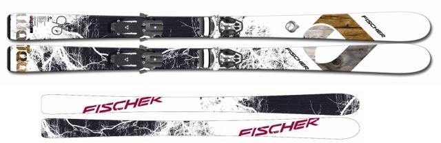 Sjezdové lyžování - Fischer WATEA 96 + X13 W/O brake 2012/2013