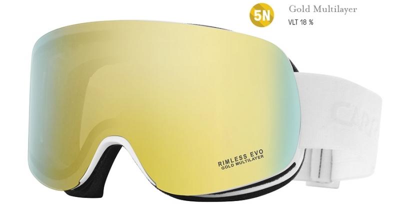 Sjezdové lyžování - Carrera RIMLESS EVO (filtr: gold multilayer) (VÝPRODEJ)