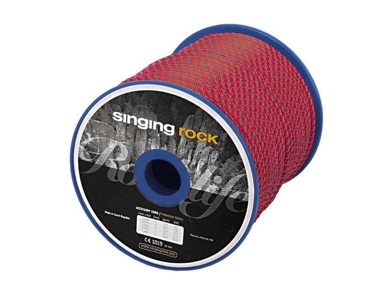 Lezecké vybavení - Singing Rock pomocná šňůra 7mm 100m