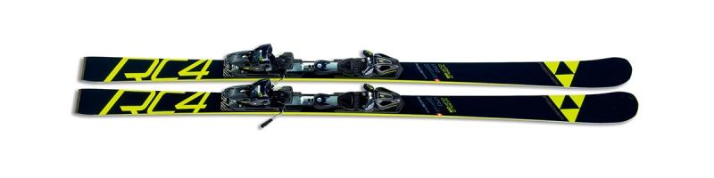 Sjezdové lyžování - Fischer RC4 WC GS JR CB + RC4 Z9 2018/19