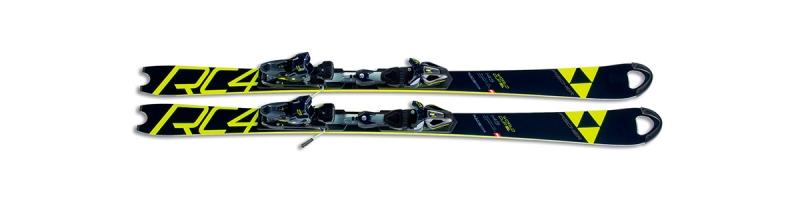 Sjezdové lyžování - Fischer RC4 WC SL JR CB + RC4 Z11 FF 2018/19