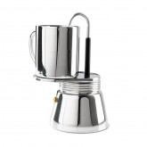 GSI Outdoors Stainless Mini Espresso 4 cup; 296ml