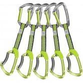 Climbing Technology 5x LIME SET NY 12cm Green/grey